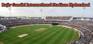 Rajiv Gandhi International Cricket Stadium VIVO IPL 2017 Match Schedule - Sunrisers Hyderabad Home Ground