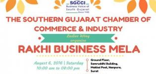 Rakhi Business Mela 2016 Surat by SGCCI on 6th August at Samruddhi Building
