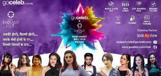 Rang Barse Holi 2019 at Emerald Club in Rajkot with Bollywood Celebrities