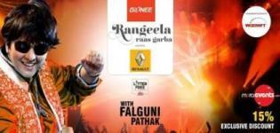 Rangeela Raas Garba Mahotsav in Mumbai - Navratri Dandiya Event with Falguni Pathak in Mumbai