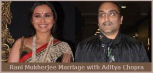Rani Mukherjee Marriage with Aditya Chopra on February 2014 - Photos Pics Images Pictures