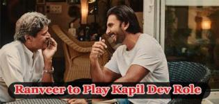 Ranveer Singh to Play Kapil Dev Role in 83 Film Directed by Kabir Khan