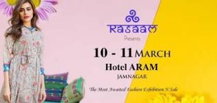 Rasaam Designer Show 2018 in Jamnagar at Hotel ARAM - Handicraft Fashion Jewellery Exhibition