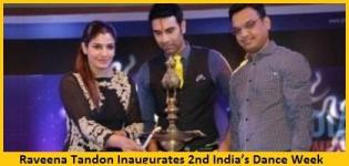 Raveena Tandon Inaugurates 2nd India�s Dance Week Hosted by Sandip Soparrkar