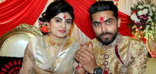 Ravindra Jadeja Get Engaged to Rivaba Solanki in Rajkot Gujarat at Jaddu's Food Field