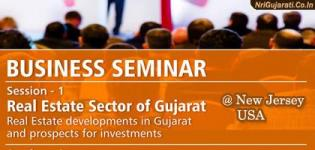 Real Estate Seminars in New Jersey USA on August 2015 during Glorious Gujarat Event