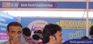 Real Tech Engineering Stall at THE BIG SHOW RAJKOT 2014