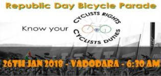 Republic Day Bicycle Parade 2018 in Vadodara - Venue Date Time Details