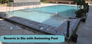 Resorts in Diu with Swimming Pool