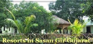 Resorts in Sasan Gir Gujarat - Best Resorts in Sasan Gir National Park