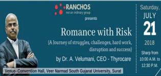 Romance with Risk Seminar on Journey of Struggles, Hard work, Challenges and Success in Surat