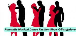 Romantic Musical Dance Fashion Show 2016 in Bangalore Date and Details