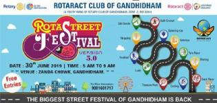 Rota Street Festival 5.O 2019 in Gandhidham at Zanda Chowk on 30th June