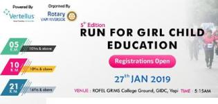 Rotary Vapi Riverside Organized Vapi Marathon 2019 in Vapi on 27th January 2019