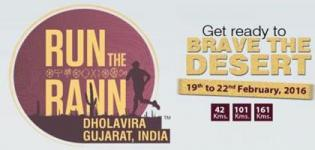 Run The Rann 2016 in Dholavira Kutch - 3rd Edition Marathon Race Event at on February 2016