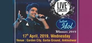 SALMAN ALI - Live Concert 2019 in Ankleshwar at Garden City