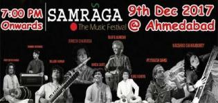 SAMRAGA - The Festival Of Indian Classical Music 2017 in Ahmedabad