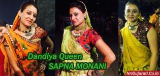 SAPNA MONANI Navratri Raas Garba Dandiya QUEEN from Rajkot Gujarat India