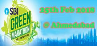 SBI Green Marathon 2018 in Ahmedabad Date and Venue Details