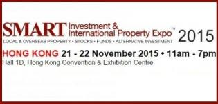 SMART Investment & International Property Expo 2015 at Hong Kong