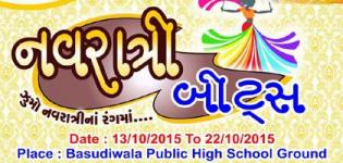 SPACT Group Presents Navratri Beats 2015 in Nadiyad at Basudiwala Public High School