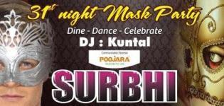SURBHI 31st December 2012 MASK Party @ TGB Rajkot - Welcome 2013 New Party Celebration