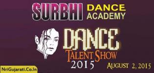 SURBHI Dance Academy Presents DANCE TALENT SHOW 2015 on 2nd August 2015 in Rajkot India