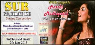SUR Gujarat Ke 2015 - Singing Auditions Competition in Ahmedabad-Vadodara-Surat-Rajkot-Kutch