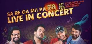 Sa Re Ga Ma Pa Live in Concert 2016 in Ahmedabad with Mika Singh Sajid Wajid And Pritam