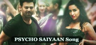 Saaho Movie First Song PSYCHO SAIYAAN - Prabhas and Shraddha Kapoor