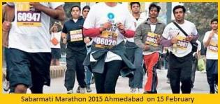 Sabarmati Marathon 2015 in Ahmedabad Gujarat on 15 February - Date Venue Route