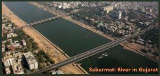 Sabarmati River in Ahmedabad Gujarat - Information - Images - Details