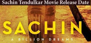 Sachin: A Billion Dreams Hindi Movie 2017 - Sachin Tendulkar Film Release Date Details