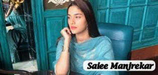 Saiee Manjrekar is all set for her Bollywood Debut with Dabangg 3 Movie