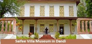 Saifee Villa Gandhi Memorial Museum in Dandi Gujarat