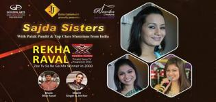 Sajda Sisters Live in Concert Tour UK 2016 with Pandit Palak and Jasbir Wouhra