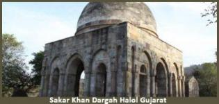 Sakar Khan Dargah in Halol Gujarat - History - Address