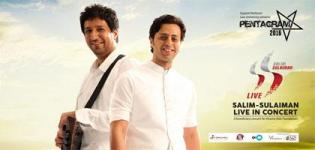 Salim Sulaiman Live Concert 2016 in Gandhinagar Ahmedabad at Gujarat National Law University