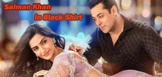 Salman Khan Black Shirt in Prem Ratan Dhan Payo Movie 2015 - Designer Traditional Costume Photos