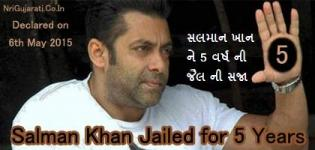 Salman Khan Jailed for 5 Years in Mumbai India - Latest Breaking News on 6th May 2015