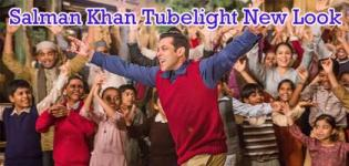 Salman Khan Latest Look New Images in Tubelight Movie 2017