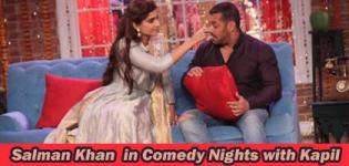 Salman Khan Sonam Kapoor in Comedy Nights with Kapil for Prem Ratan Dhan Payo Promotion Pics 2015