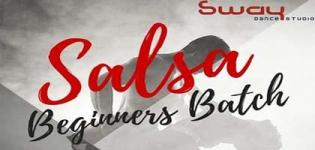 Salsa Beginners Batch arrange by Sway Dance Studio for all People in Ahmedabad