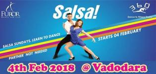 Salsa Sundays New Beginner Batch 2018 Vadodara Venue Date - Details