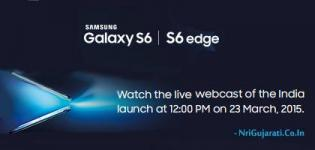 Samsung Galaxy S6 / S6 Edge Launch Date in India - Smartphone Features - Price/Rate - Availability