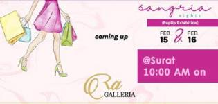 Sangaria Nights The Pop Up Exhibition in Surat Date Venue and Time Details