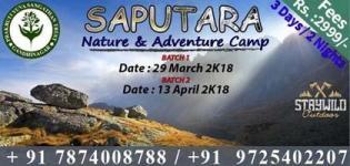 Saputara Nature & Adventure Camp 2018 by Prakruti Yuva Sangathan Trust Gandhinagar
