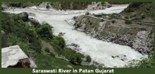 Saraswati River in Patan Gujarat - History - Information - Details - Images