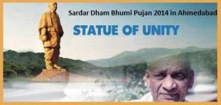 Sardar Dham Bhumi Pujan 2014 in Ahmedabad