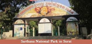 Sarthana National Park in Surat Gujarat - Timings of Sarthana Nature Park Zoo in Surat